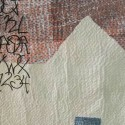 embroidery on applique and dye print